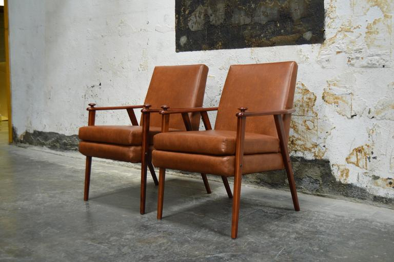 Other Pair of Mid-Century Modern Side Chairs For Sale