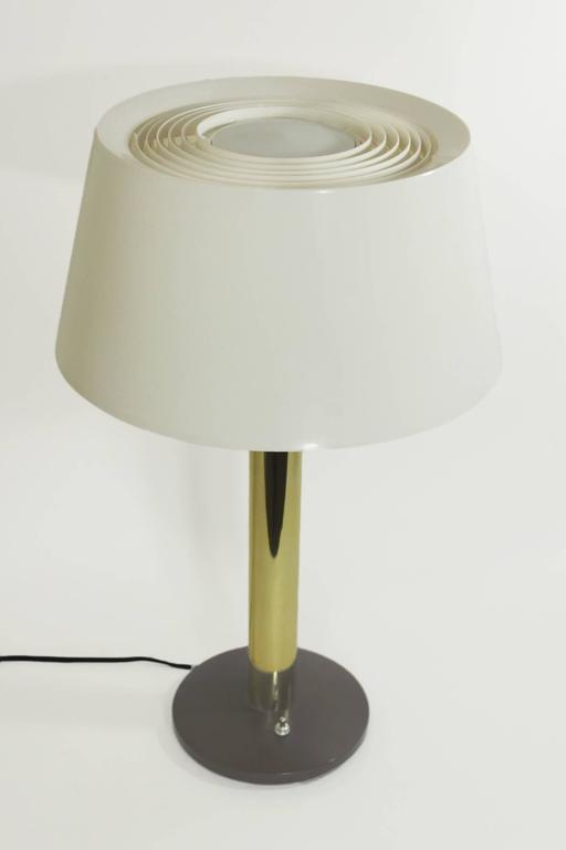 Vintage 1960s Lightolier Lamp By Gerald Thurston For Sale