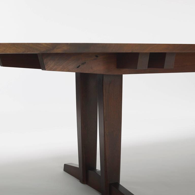 20th Century Minguren iv Walnut Table by George Nakjashima 4