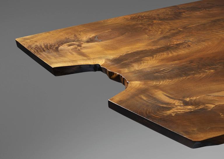 20th Century Minguren iv Walnut Table by George Nakjashima For Sale 1