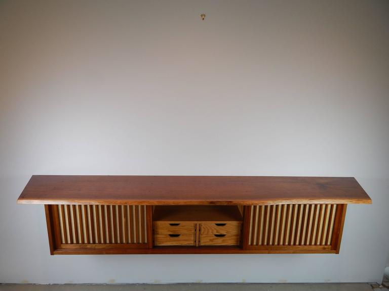 Walnut Wall Cabinet by George Nakashima 5