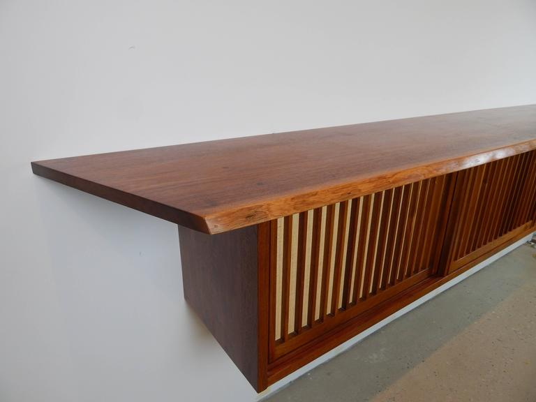 Walnut Wall Cabinet by George Nakashima 6