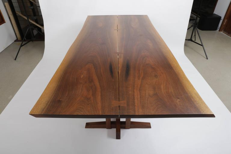 American Walnut Frenchmans Cove Dinning Table by George Nakashima For Sale