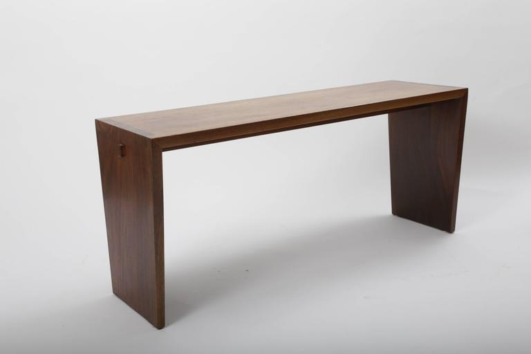 Walnut Bench by George Nakashima 2
