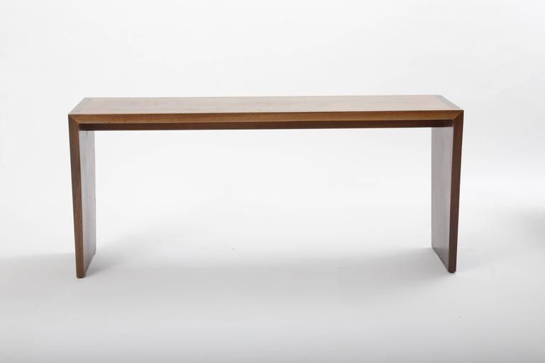 Walnut Bench by George Nakashima 4