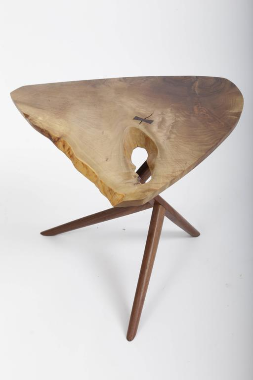 Persian Walnut Conoid End Table by George Nakashima 2