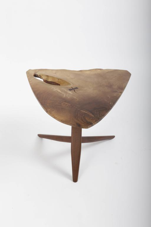 Persian Walnut Conoid End Table by George Nakashima 5