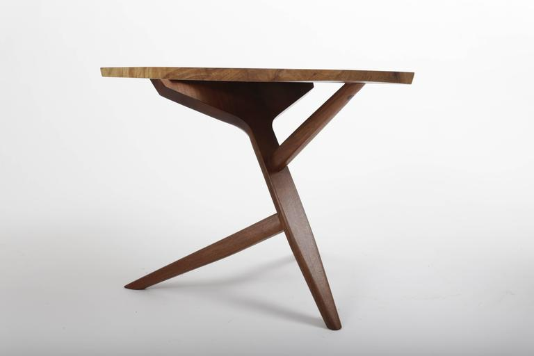 Persian Walnut Conoid End Table by George Nakashima 6