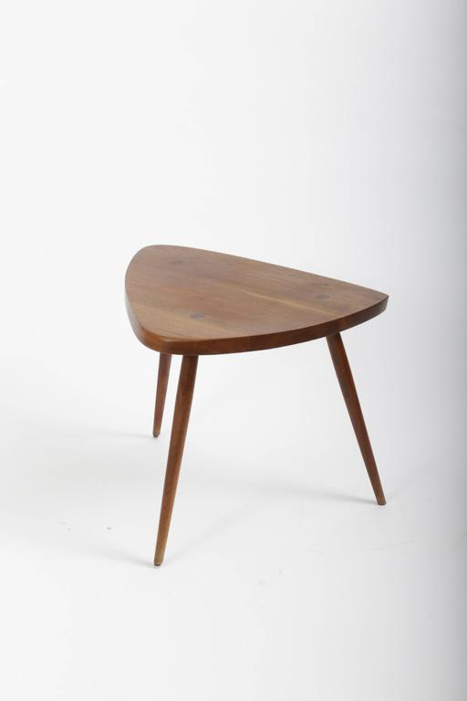 Mid-Century Modern Walnut Wepman Table by George Nakashima For Sale