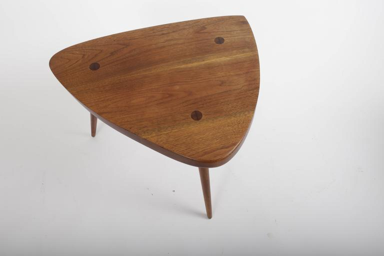 American Walnut Wepman Table by George Nakashima For Sale