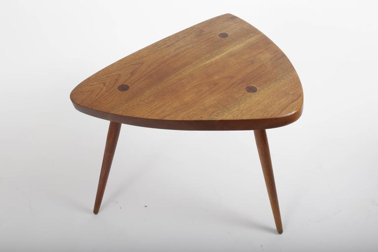 Hand-Crafted Walnut Wepman Table by George Nakashima For Sale