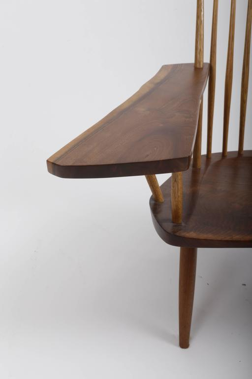 Mid-Century Modern Walnut Lounge Chair by George Nakashima For Sale