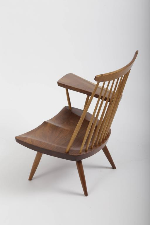 American Walnut Lounge Chair by George Nakashima For Sale