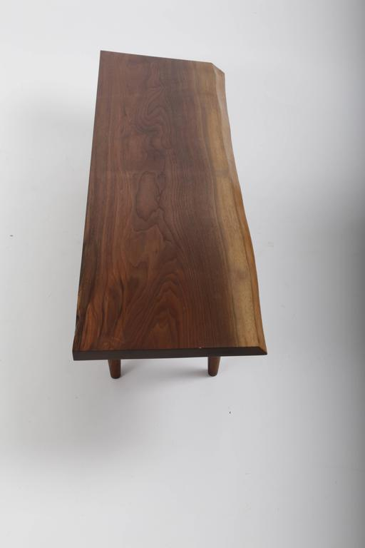 Walnut Q Bench by George Nakashima 2