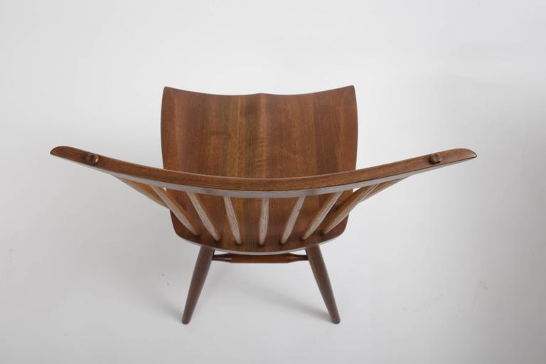 Set of Eight New Style Chairs by George Nakashima In Excellent Condition For Sale In Sea Cliff, NY