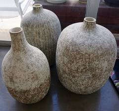 Three Large Ceramic Vessels by Claude Conover