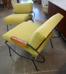 Pair of Lounge Chairs by Dan Johnson