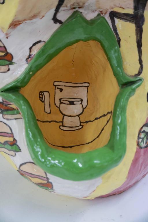 Irreverant 1960s Ceramic Sculpture 6