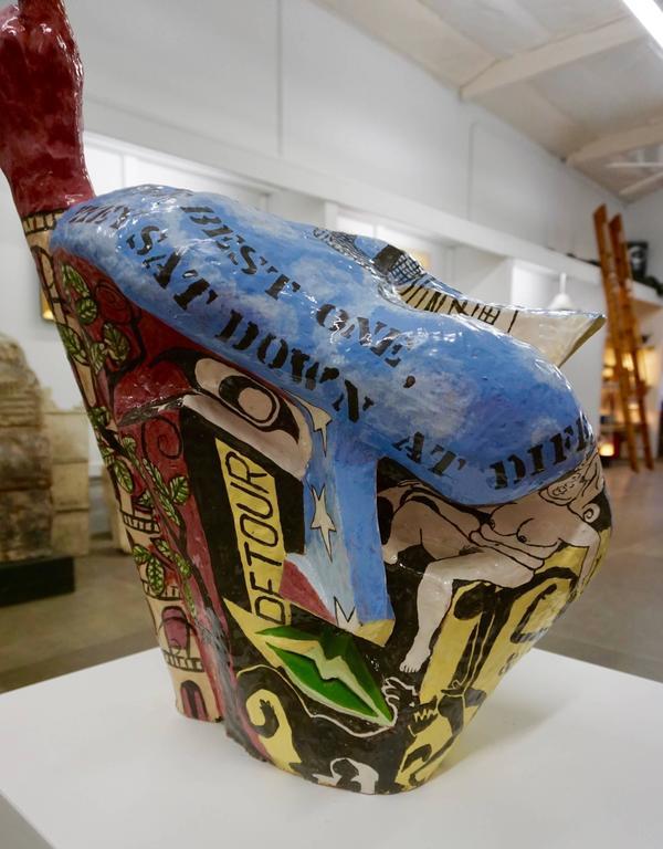 Irreverant 1960s Ceramic Sculpture 7