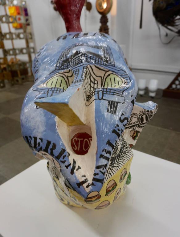 Irreverant 1960s Ceramic Sculpture 8