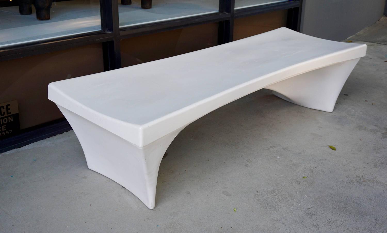 Fiberglass Garden Bench : Fiberglass bench by douglas deeds for sale at stdibs