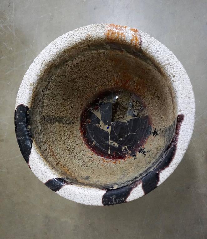 Mid-20th Century Ceramic Glaziers Crucible For Sale