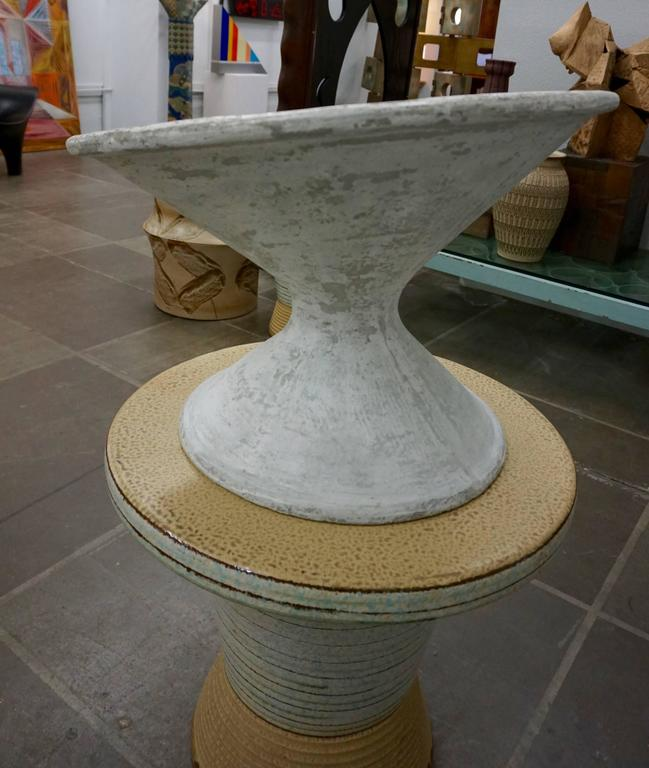 Off Kilter Planter by Willy Guhl 6