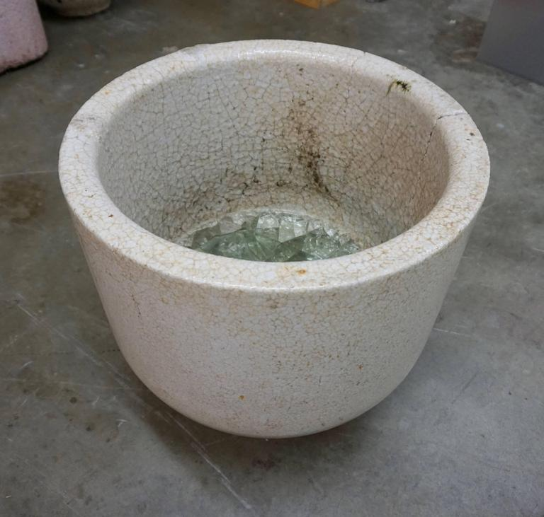 Ceramic Glass Blowers Crucible/Vessel For Sale 1