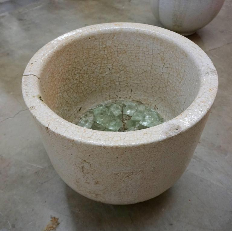 Ceramic Glass Blowers Crucible/Vessel For Sale 2