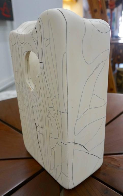 Mid-Century Modern Composite Abstract Sculpture For Sale