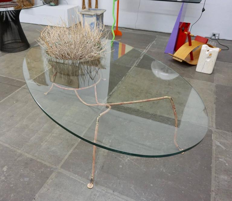 Unusual Glass Top Coffee Table 5