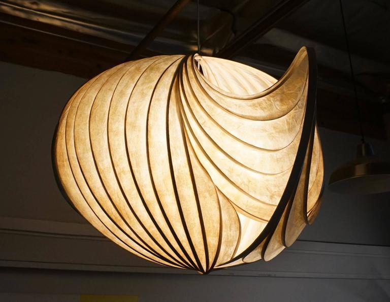 Pendant Light Sculpture by William Leslie 2