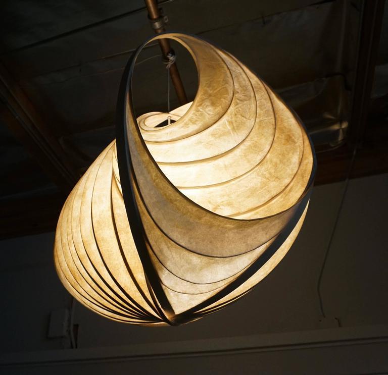Pendant Light Sculpture by William Leslie 3