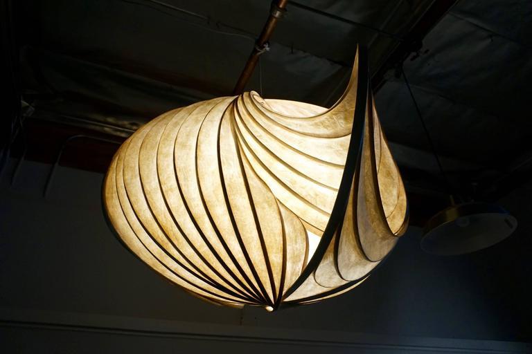Pendant Light Sculpture by William Leslie 5