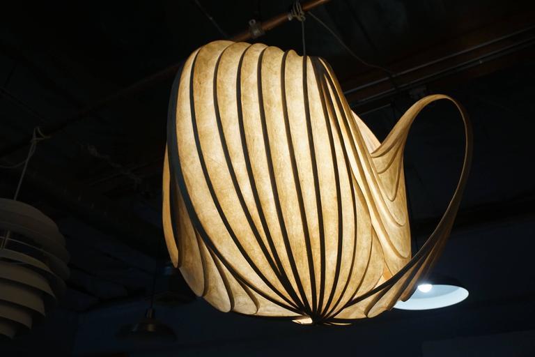 Pendant Light Sculpture by William Leslie 8