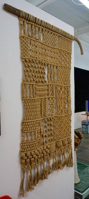 1960s Hippie Macrame For Sale 1