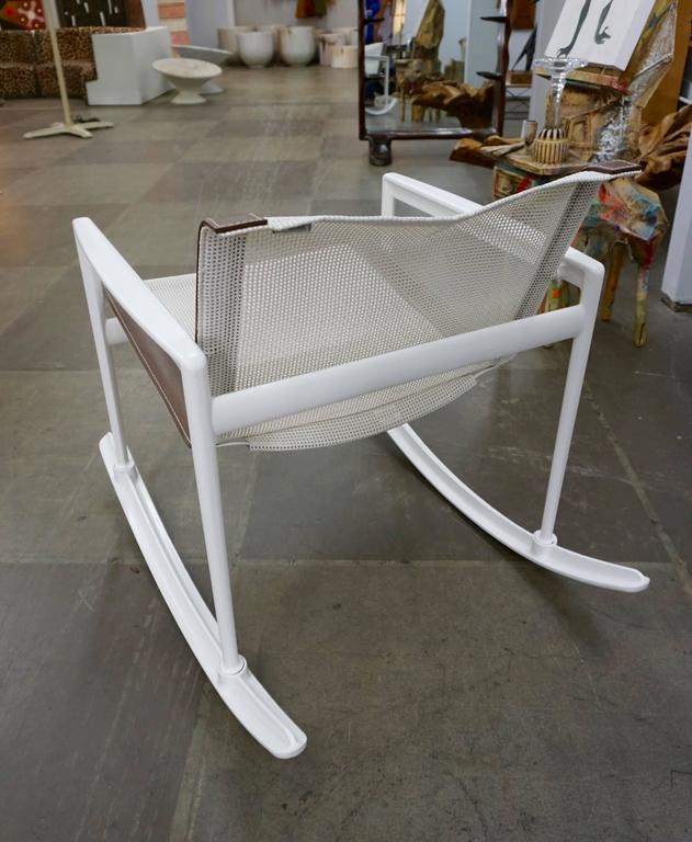 Mid-Century Modern Richard Schultz Rocking Chair for Knoll For Sale