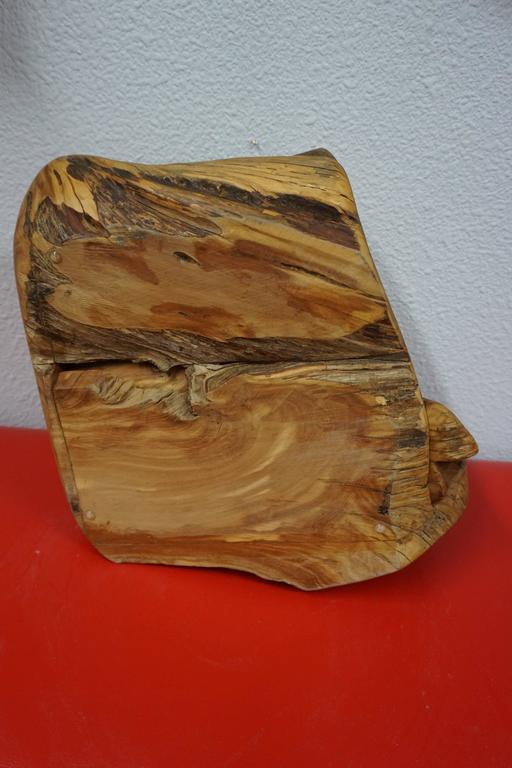 Hand Carved Organic Jewelry Box 8