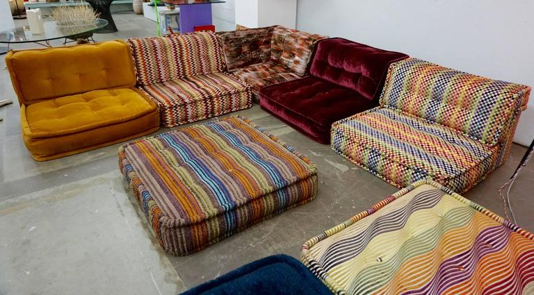 In 1971 Hans Hopfer Created The Mah Jong, A Sofa Based On Total Freedom Of