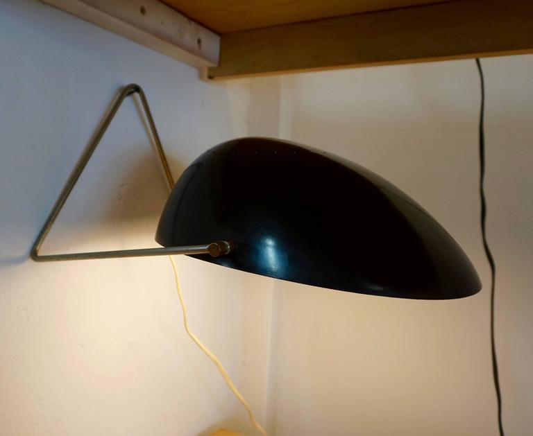 "Mid-Century Modern ""Cricket"" Lamp by Gerald Thurston For Sale"
