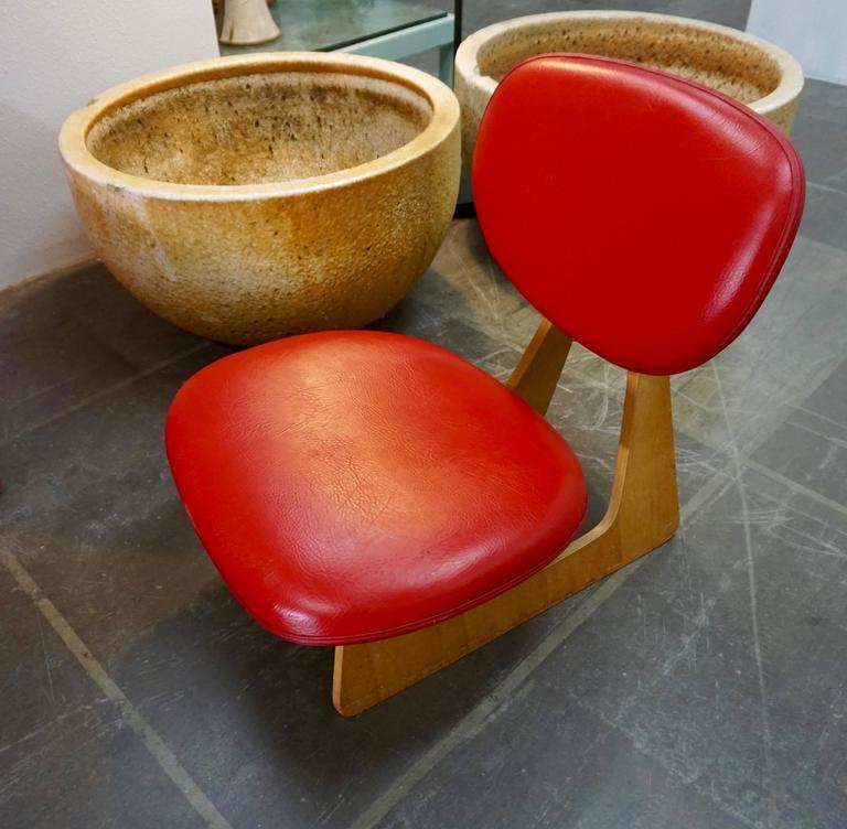 "Japanese ""Teiza"" Chair by Daisaku Choh 2"