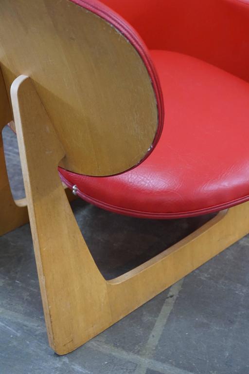 "Japanese ""Teiza"" Chair by Daisaku Choh 5"