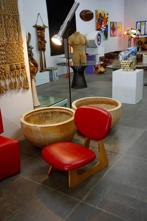 "Japanese ""Teiza"" Chair by Daisaku Choh 7"