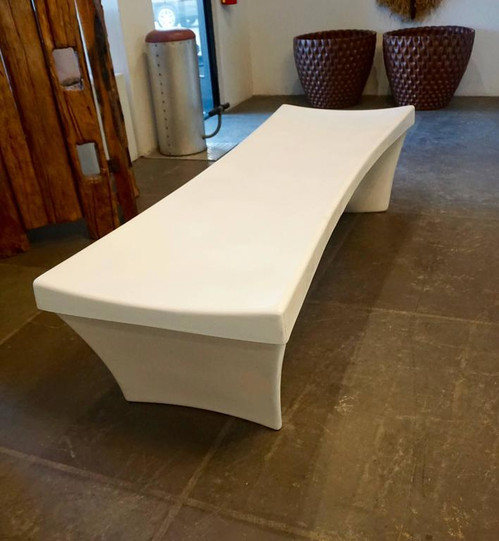 Stylish Fiberglass Bench by Douglas Deeds 3
