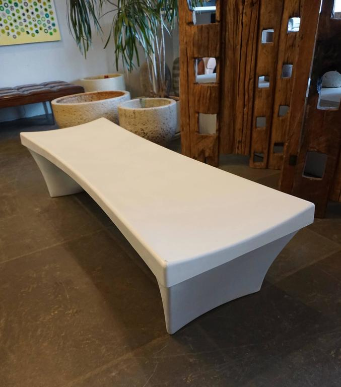 Stylish Fiberglass Bench by Douglas Deeds 4