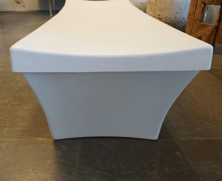 Stylish Fiberglass Bench by Douglas Deeds 5