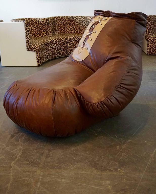 Post-Modern De Sede Boxing Glove Chair For Sale