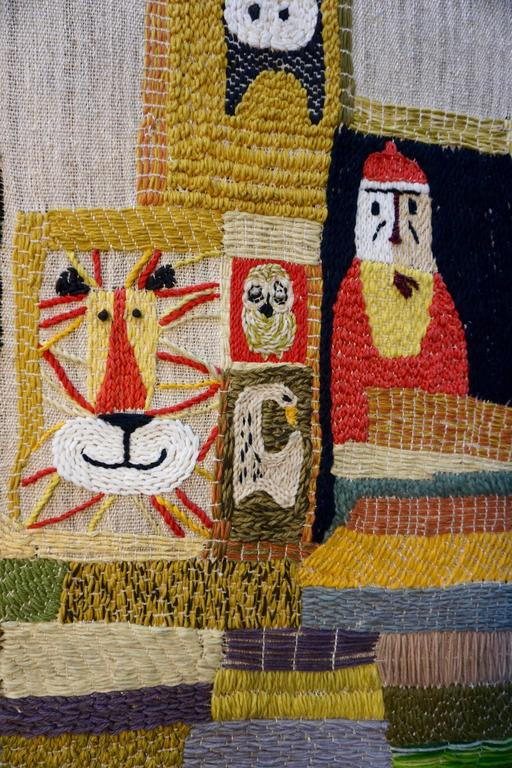Handwoven Tapestry by Nancy Nash In Excellent Condition For Sale In Cathedral City, CA