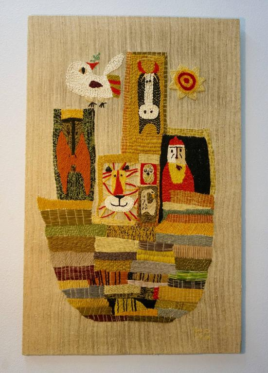 Handwoven Tapestry by Nancy Nash For Sale 1