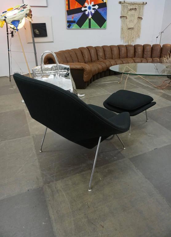 "Eero Saarinen ""Womb"" Lounge Chair and Ottoman 7"